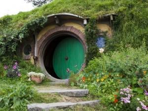 Hobbit-Haus im Auenland